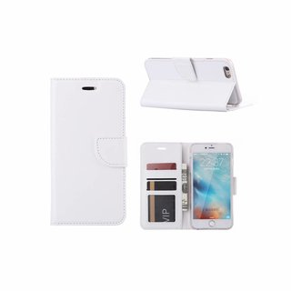 Bookcase Apple iPhone 6 Plus / 6S Plus hoesje - Wit