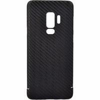 Nevox Nevox Originele Carbon Back Cover Hoesje voor de Samsung Galaxy S9 Plus - Zwart