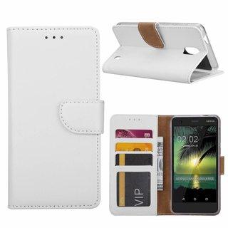 Bookcase Nokia 2 hoesje - Wit