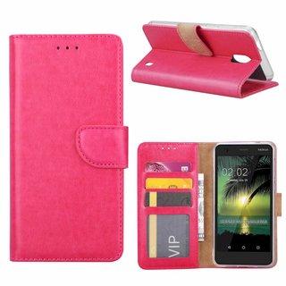 Bookcase Nokia 2 hoesje - Roze