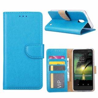 Bookcase Nokia 2 hoesje - Blauw