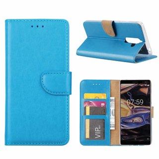 Bookcase Nokia 7 Plus hoesje - Blauw