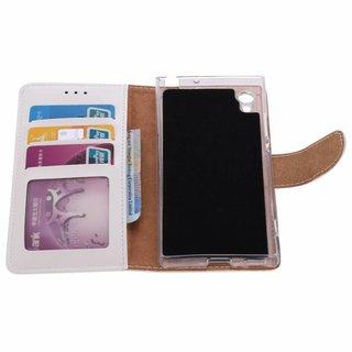 Bookcase Sony Xperia XA1 hoesje - Wit