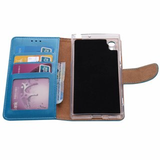 Bookcase Sony Xperia XA1 hoesje - Blauw