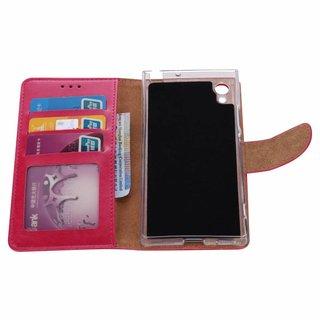 Bookcase Sony Xperia XA1 hoesje - Roze