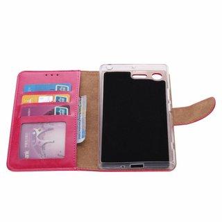 Bookcase Sony Xperia XZ Premium hoesje - Roze