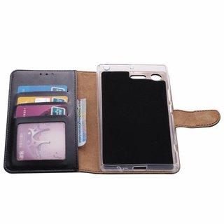 Bookcase Sony Xperia XZ Premium hoesje - Zwart