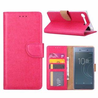Bookcase Sony Xperia XZ1 hoesje - Roze