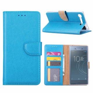 Bookcase Sony Xperia XZ1 Compact hoesje - Blauw