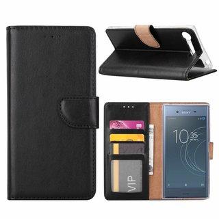 Bookcase Sony Xperia XZ1 Compact hoesje - Zwart