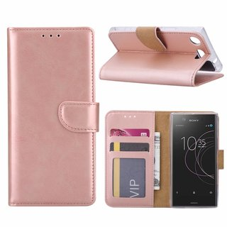 Bookcase Sony Xperia XZ1 Compact hoesje - Rosé Goud
