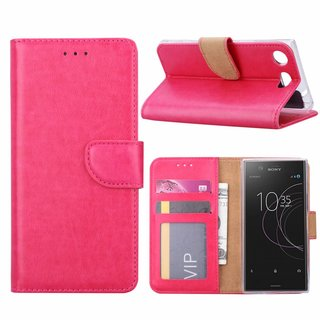 Bookcase Sony Xperia XZ1 Compact hoesje - Roze