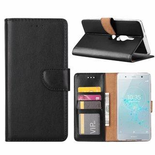 Bookcase Sony Xperia XZ2 Premium hoesje - Zwart