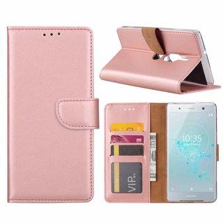 Bookcase Sony Xperia XZ2 Premium hoesje - Rosé Goud