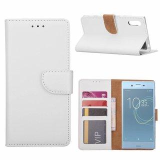 Bookcase Sony Xperia XZs hoesje - Wit