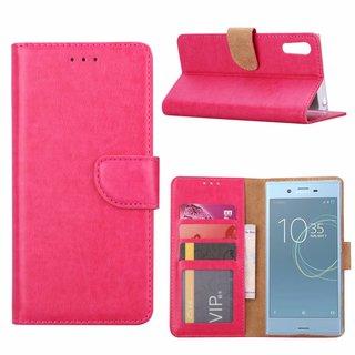 Bookcase Sony Xperia XZs hoesje - Roze