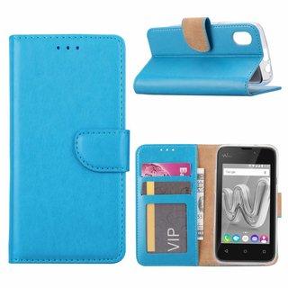 Bookcase Wiko Sunny Max hoesje - Blauw