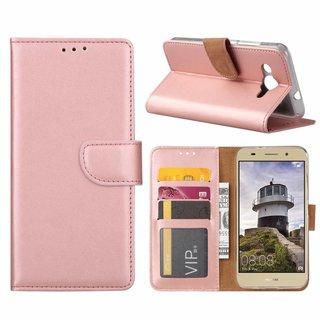 Bookcase Huawei Y3 2018 hoesje - Rosé Goud