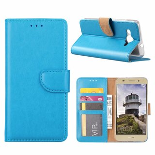 Bookcase Huawei Y3 2018 hoesje - Blauw