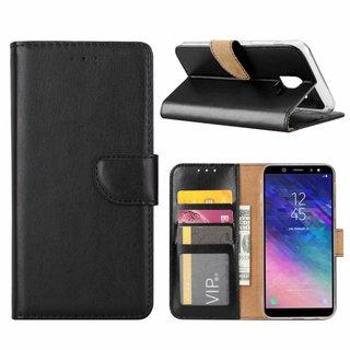 Bookcase Samsung Galaxy A6 2018 hoesje - Zwart