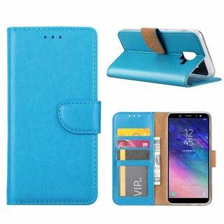 Bookcase Samsung Galaxy A6 2018 hoesje - Blauw