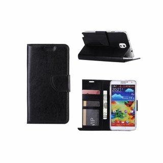 Bookcase Samsung Galaxy Note 3 hoesje - Zwart
