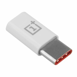 OnePlus Originele Micro-USB naar Type-C Adapter - Wit