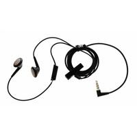Blackberry Originele Stereo headset oordopjes - Zwart