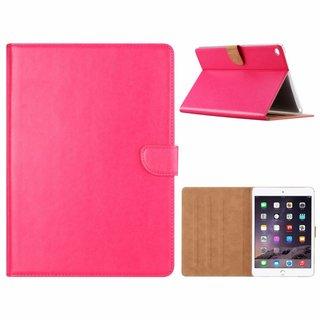 Luxe Lederen Standaard hoes voor de Apple iPad Air 2 9.7 inch - Roze