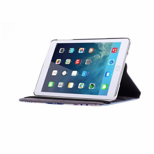 Aztec print lederen roterende hoes voor de Apple iPad Mini 1/2/3 (7.9 inch)