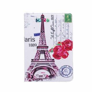 Parijs print lederen roterende hoes voor de Apple iPad Mini 1/2/3 (7.9 inch)