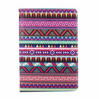 Gekleurde Aztec print lederen roterende hoes voor de Apple iPad Mini 4 (7.9 inch)