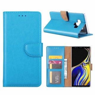Bookcase Samsung Galaxy Note 9 hoesje - Blauw