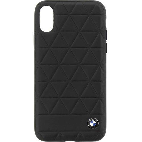 BMW Originele Hexagon Folio Back Cover Hoesje voor de Apple iPhone X / XS - Zwart