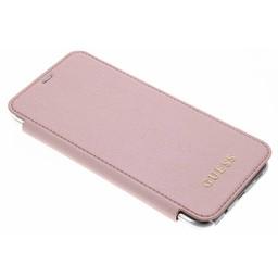 Guess Originele Transparante Iridescent Samsung Galaxy S8 Plus Backcase - Rosé Goud
