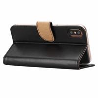Bookcase Apple iPhone XS hoesje - Zwart