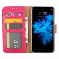 Bookcase Apple iPhone XS hoesje - Roze