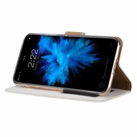 Bookcase Apple iPhone XS hoesje - Wit