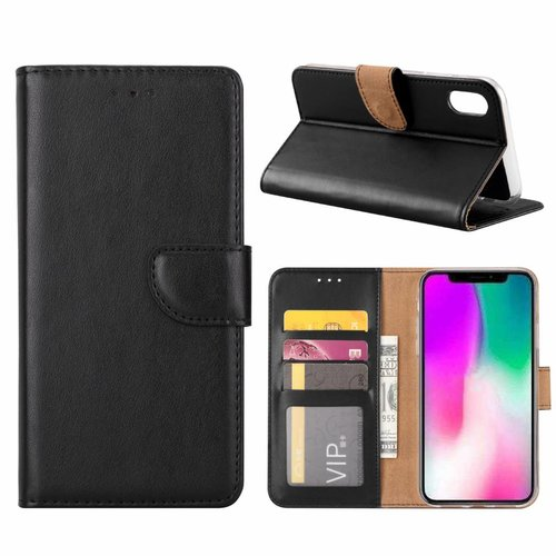 Bookcase Apple iPhone XR hoesje - Zwart