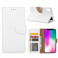 Bookcase Apple iPhone XR hoesje - Wit