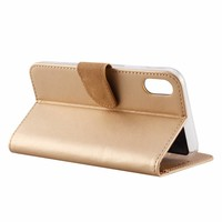 Bookcase Apple iPhone XR hoesje - Goud