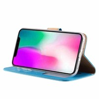 Bookcase Apple iPhone XR hoesje - Blauw