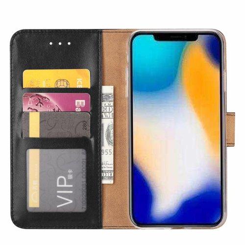 Bookcase Apple iPhone XS Max hoesje - Zwart