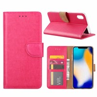 Bookcase Apple iPhone XS Max hoesje - Roze