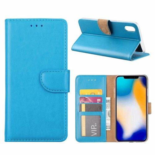 Bookcase Apple iPhone XS Max hoesje - Blauw