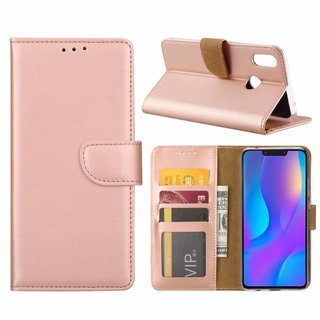 Bookcase Huawei P Smart Plus hoesje - Rosé Goud