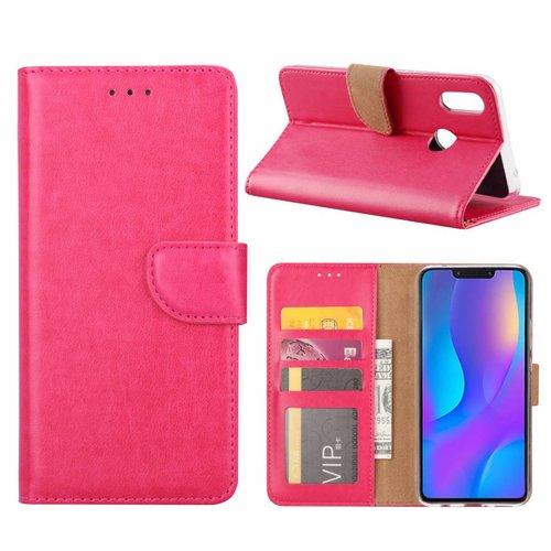 Bookcase Huawei P Smart Plus hoesje - Roze