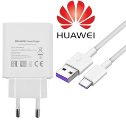 Huawei Originele Supercharger Oplader Adapter + USB 3.1 Type-C kabel - 5A