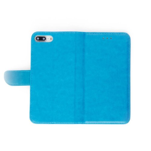Bookcase Apple iPhone 7 Plus hoesje - Blauw
