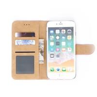 Bookcase Apple iPhone 8 Plus hoesje - Roze